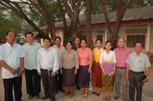 equipe pédagogique SAKA 2012